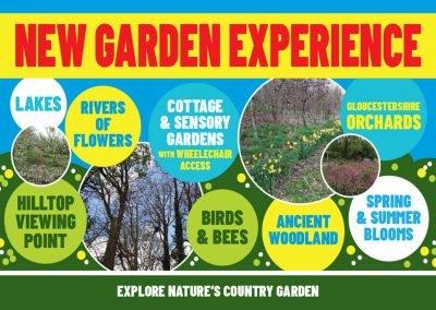 Country garden walks