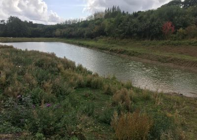 Fishing in Gloucestershire lake