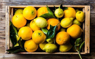 The famous Nursery Rhyme Oranges and Lemons